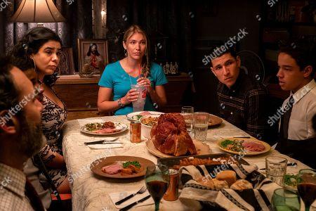 Jessica Marie Garcia as Jasmine, Danny Ramirez as Mario Martinez and Jason Genao as Ruby Martinez