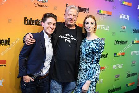 Molly Bernard, Kurt Kelly, and guest