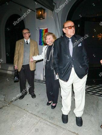 Stock Photo of Clive Davis and Barbara Davis at Craig's Restaurant