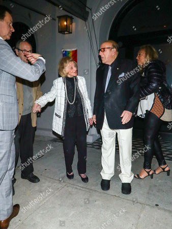 Editorial photo of Clive Davis out and about, Los Angeles, USA - 04 Jun 2019