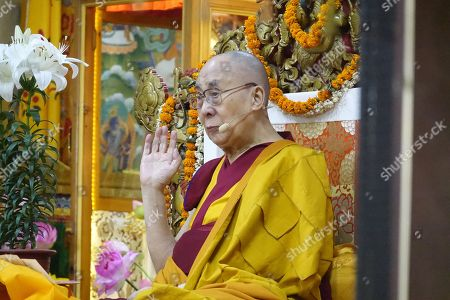 Photos De Stock De Dalai Lama Attends Avalokiteshvara