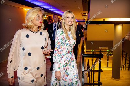 Ivanka Trump (R) walks next to Sigrid Kaag (L), Dutch Minister for Foreign Trade and Development Cooperation as they arrive at the World Forum for Global Entrepreneurship Summit (GES), in the Hague, Netherlands, 05 June 2019. The daughter and advisor of US President Donald Trump participates in the closing event and talks about the rights of women worldwide.