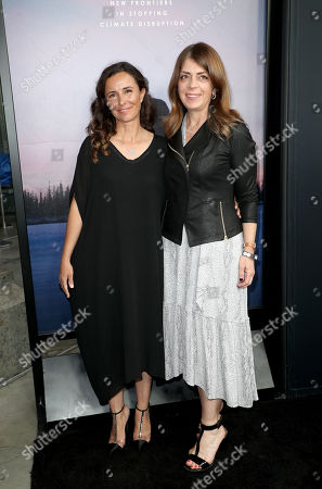 Leila Conners and Nancy Abraham