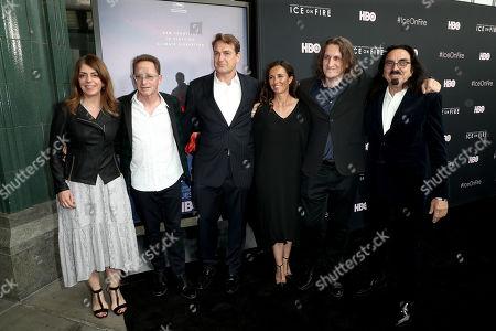 Nancy Abraham, Roee Sharon, Mathew Schmid, Leila Conners, Harun Mehmedinovic, and George DiCaprio