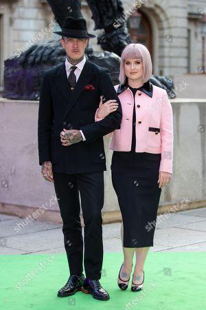 Jimmy Q and Kelly Osbourne