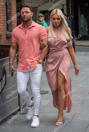 Editorial image of Ricci Guarnaccio and Shannen Reilly McGrath, out and about, Dublin, Ireland - 05 Jun 2019