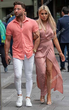 Editorial picture of Ricci Guarnaccio and Shannen Reilly McGrath, out and about, Dublin, Ireland - 05 Jun 2019