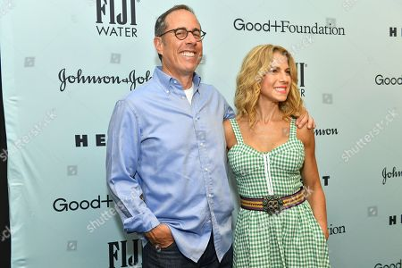 Jerry Seinfeld and Jessica Seinfeld