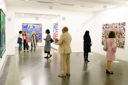 Editorial picture of Preview of Faith Ringgold at the Serpentine Gallery, London, UK - 05 Jun 2019