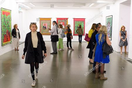 Editorial image of Preview of Faith Ringgold at the Serpentine Gallery, London, UK - 05 Jun 2019