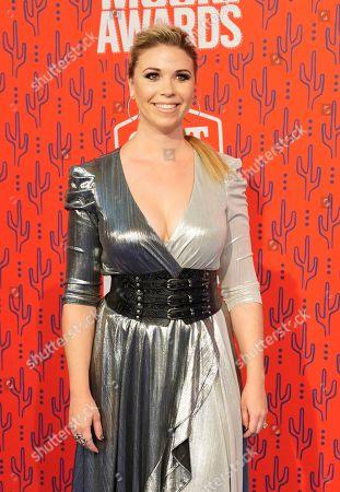 Stock Photo of Sandra Lynn arrives at the CMT Music Awards, at the Bridgestone Arena in Nashville, Tenn