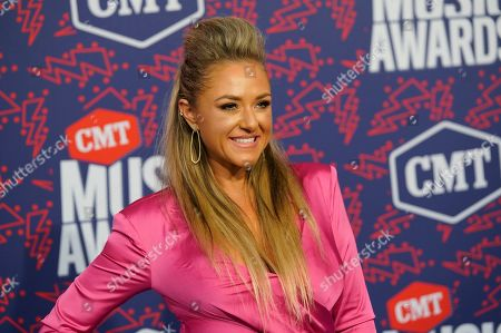 Stock Photo of Leah Turner arrives at the CMT Music Awards, at the Bridgestone Arena in Nashville, Tenn