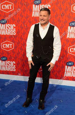 Ty Herndon arrives at the CMT Music Awards, at the Bridgestone Arena in Nashville, Tenn