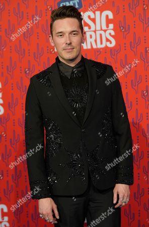 Stock Image of Sam Palladio arrives at the CMT Music Awards, at the Bridgestone Arena in Nashville, Tenn