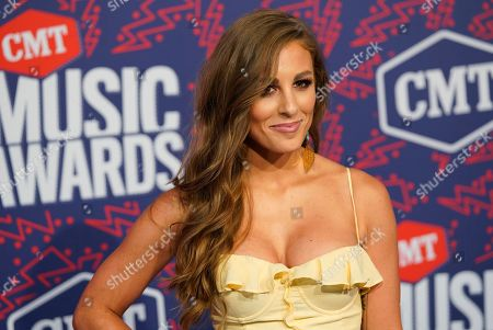 Stock Picture of Tara Thompson arrives at the CMT Music Awards, at the Bridgestone Arena in Nashville, Tenn