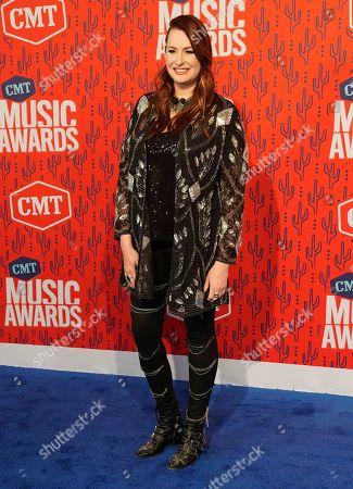 Hilary Williams arrives at the CMT Music Awards, at the Bridgestone Arena in Nashville, Tenn