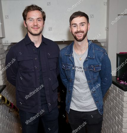 Stock Photo of Simon Lennon & Charlie Quirke