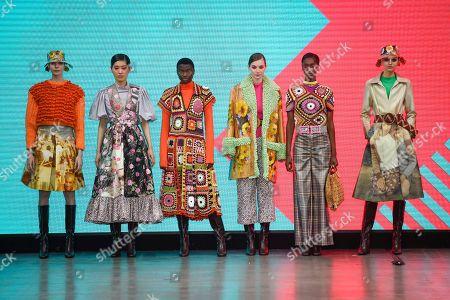 Editorial image of 'The Best of Graduate Fashion Week' show, Runway, London, UK - 05 Jun 2019
