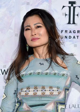Stock Image of SunHee Grinnell attends the Fragrance Foundation Awards at the David H. Koch Theater at Lincoln Center, in New York