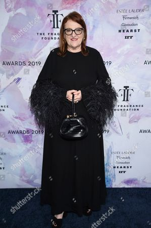 Harper's Bazaar editor-in-chief Glenda Bailey attends the Fragrance Foundation Awards at the David H. Koch Theater at Lincoln Center, in New York