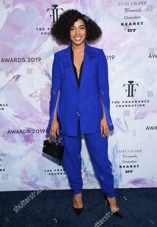 Hannah Bronfman attends the Fragrance Foundation Awards at the David H. Koch Theater at Lincoln Center, in New York