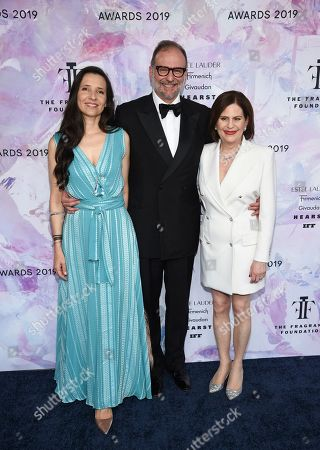 Princess Alexandra of Greece, Nicolas Mirzayantz, Linda Levy. Princess Alexandra of Greece, left, and Nicolas Mirzayantz pose with The Fragrance Foundation president Linda Levy at the Fragrance Foundation Awards at the David H. Koch Theater at Lincoln Center, in New York