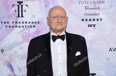 Lifetime perfumer achievement award honoree Dominique Ropion attends the Fragrance Foundation Awards at the David H. Koch Theater at Lincoln Center, in New York