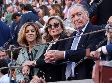 Maria Dolores de Cospedal, Maria Jose Pena and Fernando Pena