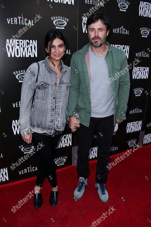 Floriana Lima and Casey Affleck