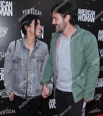 Stock Photo of Floriana Lima and Casey Affleck