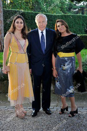 Ginevra Bulgari, Nicola Bulgari and Beatrice Bulgari