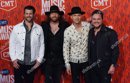 Editorial image of CMT Music Awards, Arrivals, Bridgestone Arena, Nashville, USA - 05 Jun 2019