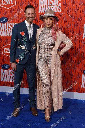 Editorial picture of CMT Music Awards, Arrivals, Bridgestone Arena, Nashville, USA - 05 Jun 2019