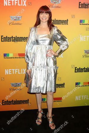 Carrie Preston attends Entertainment Weekly's LGBTQ issue party at the Stonewall Inn, in New York