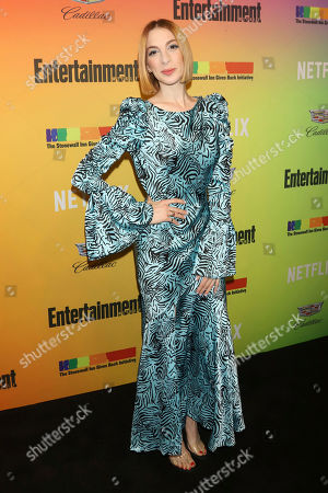 Molly Bernard attends Entertainment Weekly's LGBTQ issue party at the Stonewall Inn, in New York
