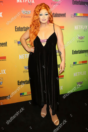 Alexis Michelle attends Entertainment Weekly's LGBTQ issue party at the Stonewall Inn, in New York