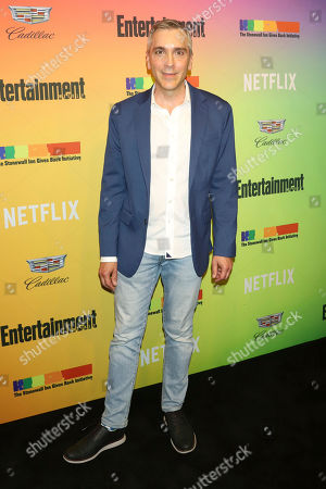 Stock Photo of Scott Lowell attends Entertainment Weekly's LGBTQ issue party at the Stonewall Inn, in New York