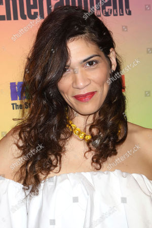 Laura Gomez attends Entertainment Weekly's LGBTQ issue party at the Stonewall Inn, in New York