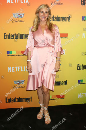 Sonja Morgan attends Entertainment Weekly's LGBTQ issue party at the Stonewall Inn, in New York