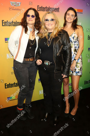 Linda Wallem, Melissa Etheridge, Bailey Jean Cypher. Linda Wallem, from left, Melissa Etheridge and Bailey Jean Cypher attend Entertainment Weekly's LGBTQ issue party at the Stonewall Inn, in New York