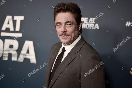 """Benicio del Toro attends """"Escape at Dannemora"""" FYC event at NeueHouse Hollywood, in Los Angeles"""