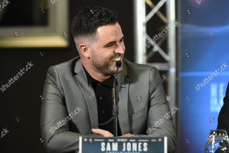 Sam Jones during a Press Conference at Intercontinental Hotel O2 on 5th June 2019