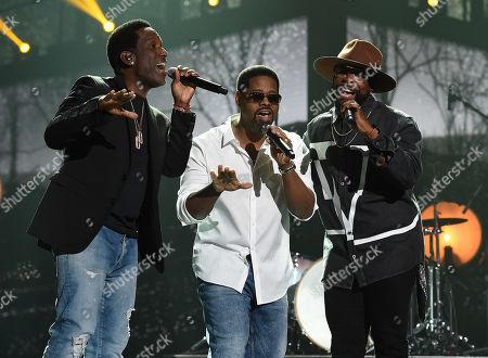 Boyz II Men - Wanya Morris, Nathan Morris and Shawn Stockman