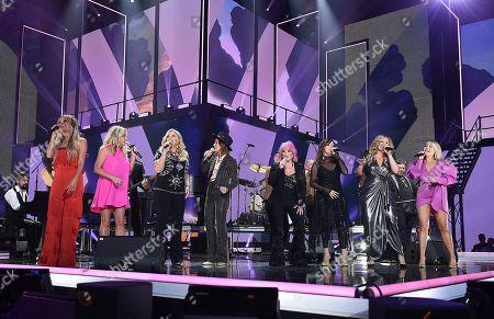 Carly Pearce, Trisha Yearwood, Brandi Carlile, Tanya Tucker, Martina McBride, Lauren Alaina, RaeLynn