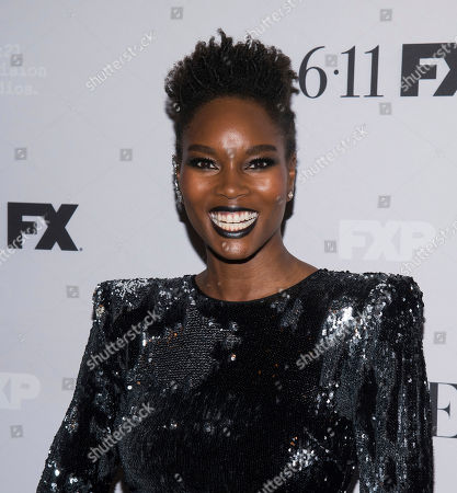 "Damaris Lewis attends FX Networks' ""Pose"" season 2 premiere at The Plaza Hotel, in New York"