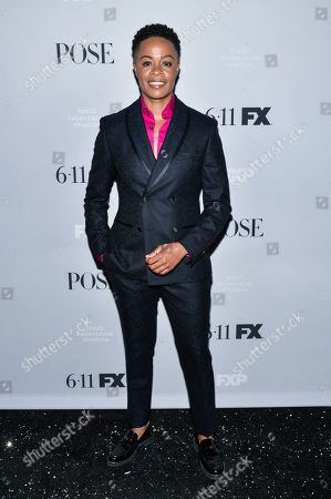 Editorial picture of 'Pose' TV show season two premiere, Arrivals, Paris Theater, New York, USA - 05 Jun 2019