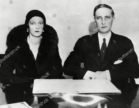 Russian Royalty. Princess Irina Alexandrovna of Russia and Prince Felix Yussupov of Russia, 1934.