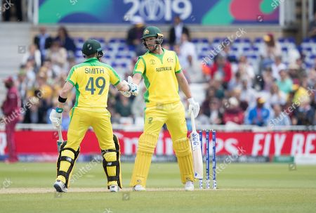 Editorial image of Australia vs West Indies, ICC World Cup, Cricket, Trent Bridge, Nottingham, Nottinghamshire, United Kingdom - 06 Jun 2019