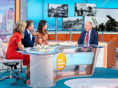 Editorial picture of 'Good Morning Britain' TV show, London, UK - 06 Jun 2019