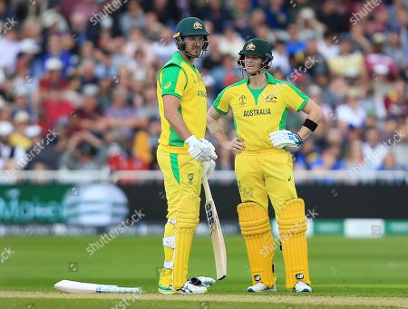 Stock Picture of Steve Smith and Nathan Coulter-Nile of Australia